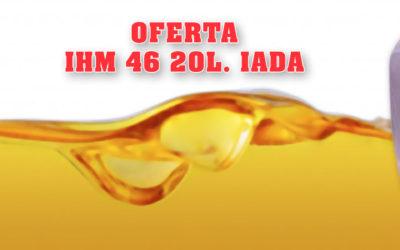 IHM 46 IADA 20 litros 33,31€ Impuestos Incluidos